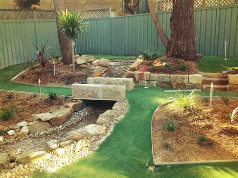 Backyard Mini Golf My Young Cousins Awesome Mini Golf