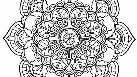 coloringcastle com mandala coloring pages html flower mandala coloring pages unintricate flower best