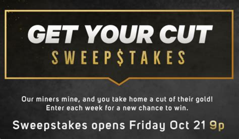 Id Channel Giveaway - discovery get your cut sweepstakes weekly codes