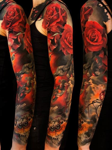 full arm tattoos badass and original sleeve tattoos top 157 trending