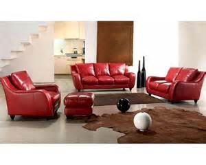 Modern Livingroom Sets Contemporary Leather Sofa Set 44l2540