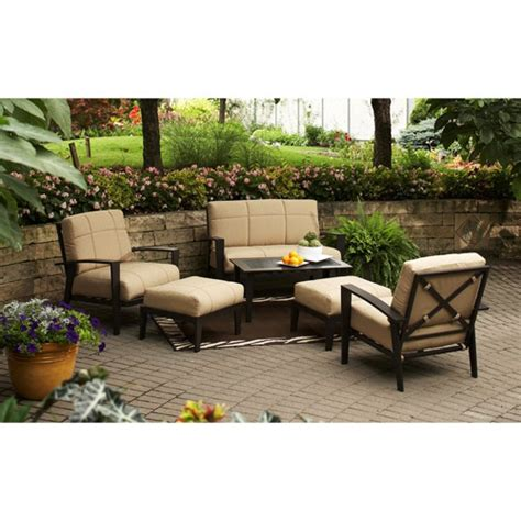walmart outdoor sectional walmart outdoor patio furniture sets peenmedia com
