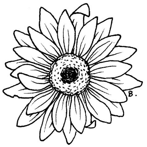 sun flower template beccy s place sunflower gerbera