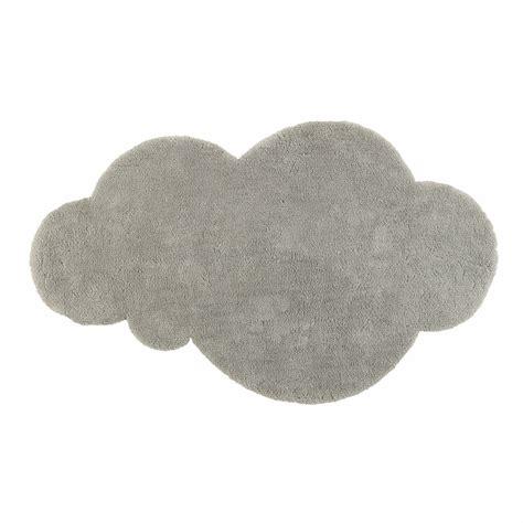 tappeto grigio tappeto nuvola grigio a pelo corto 125 x 200 cm maisons
