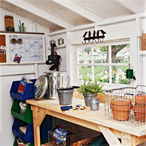 Storage Ideas For Garden Sheds 33 Practical Garden Shed Storage Ideas Digsdigs
