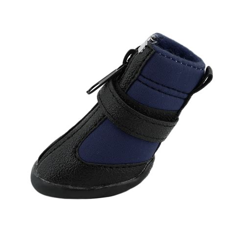 boots for dogs 4pcs black waterproof shoes boots shoes for pets small dogs puppy o5 ebay