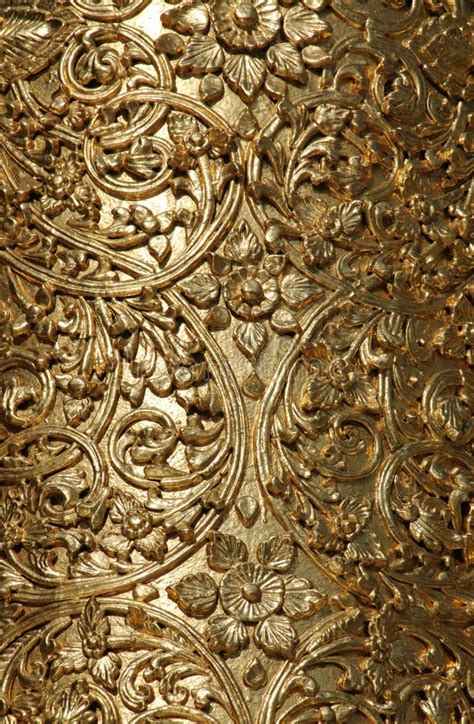 floral wood carving stock images   royalty
