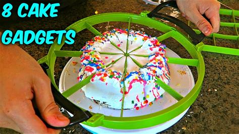 Kitchen Gadgets Russian Hacker 8 Cake Cutting Gadgets Put To The Test