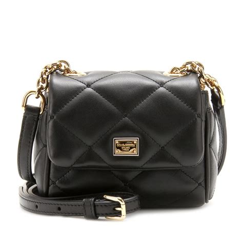 Dolce And Gabbana Quilted Leather Purse by Dolce Gabbana Kate Mini Quilted Leather Mini Shoulder
