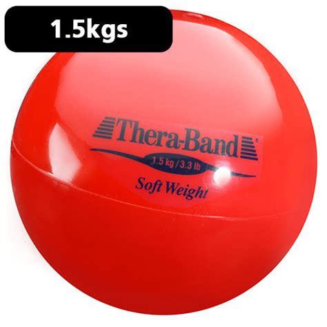 Blue Band 2kg thera band soft weight 1 5kg weights