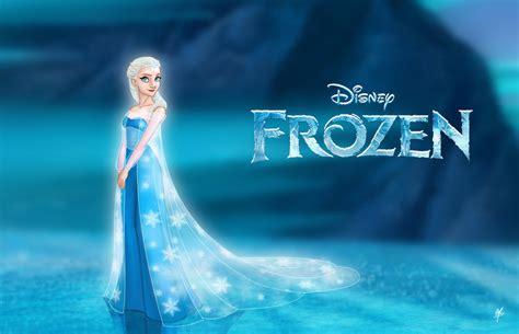 film princess elsa elsa the snow queen frozen disney princess fan art
