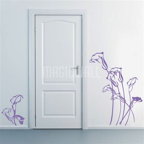 wall stickers canada wall stickers sketchy tulip flowers wall decals canada