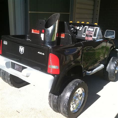 dodge ram powerwheels just bought this for my s upcoming birthday