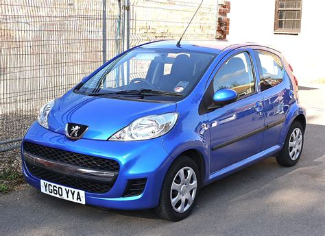 peugeot 101 car peugeot 107 simple the free encyclopedia