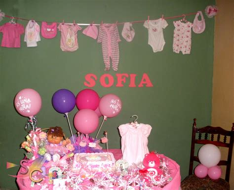 Decoracion Para Baby Shower De Niña by Decoracion Baby Shower Nino