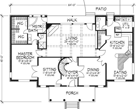 1 Story House Plans With Wrap Around Porch plantation house plans for southern style decorating