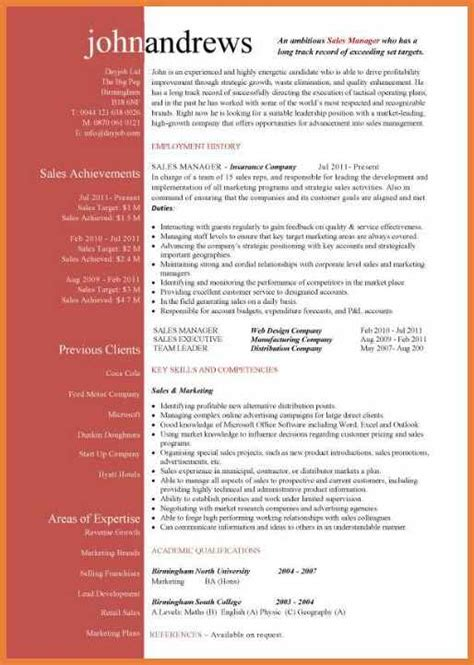 Attractive Resume Templates by Attractive Resume Format Sop