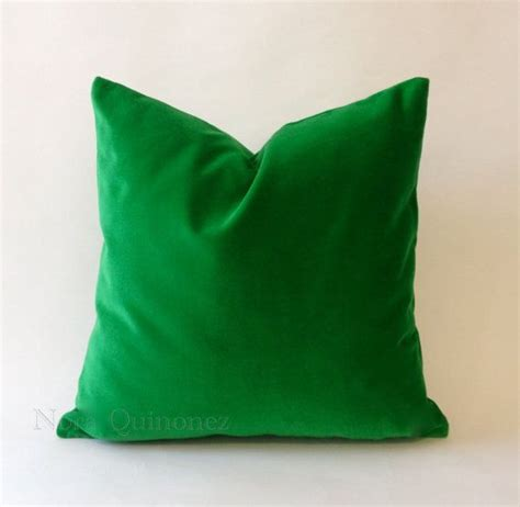 Green Throw Pillow Covers by 16x16 Green Decorative Throw Pillow Cover Medium Weight Cotto