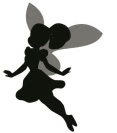 Tinkerbell Wall Stickers fairy silhouette cliparts co