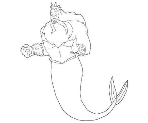 king triton coloring page king triton coloring page coloring home