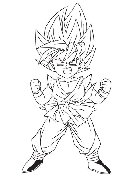 dragon ball z kai coloring pages to print dragon ball z kai pictures coloring home