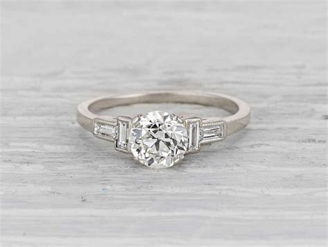 history of engagement rings erstwhile jewelry