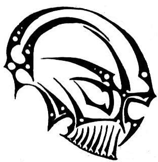 25 Cool Tribal Skull Tattoos Only Tribal Skull Tribal Tattoos Designs