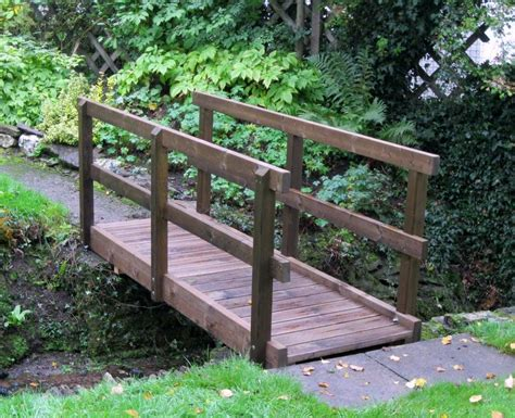 how to make a wooden bridge garden bridge the wooden workshop oakford devon