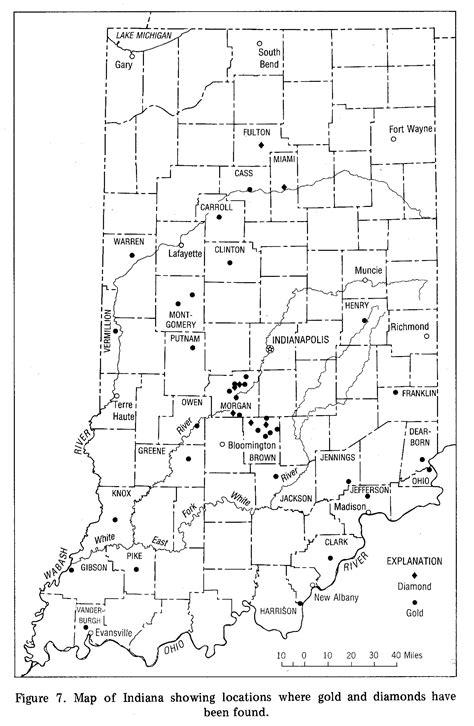 Finder Indiana Indiana S Geologic Economy