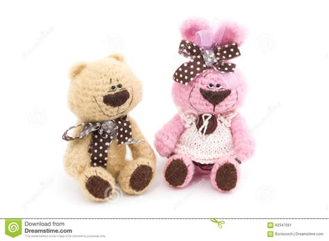 tiny knitted toys tiny knitted toys stock photo image 62347591