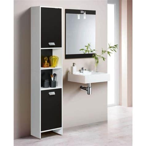 Incroyable Colonne Salle De Bain Noir #4: Colonne-de-salle-de-bain-2-portes-blanc-noir.jpg