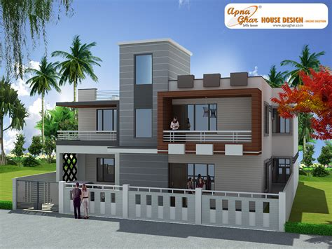 1st floor veranda design 3 bedroom modern duplex 2 floor house design area 285