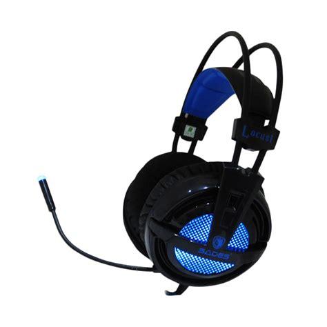 Jual Headset Sades Murah jual sades sa 704 locust gaming headset harga kualitas terjamin blibli