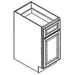 Kitchen Cabinets Assembly Required by 15 Quot Wide Base Cabinet Richmond Bordeaux Kitchen Cabinet