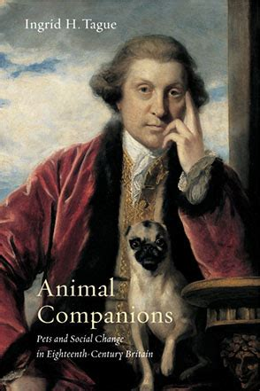 animal companions pets and social change in eighteenth