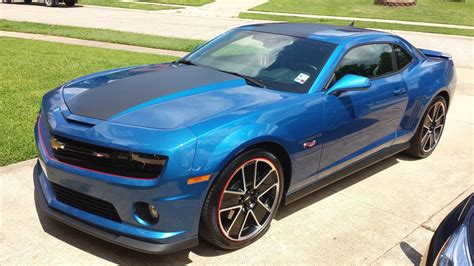 kinetic blue metallic camaro hot wheels blue