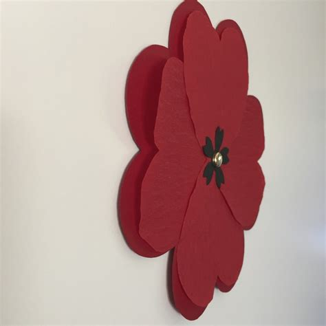 Make Paper Poppies - paper poppies