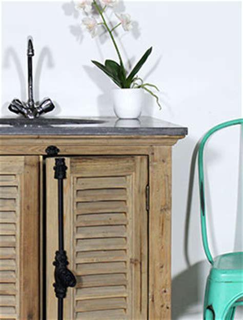 meuble salle de bain ancien et rustique made in meubles