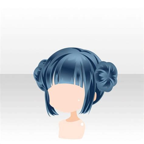 anime bun hairstyles ネオン街の喜劇 games アットゲームズ double bun hairstyle