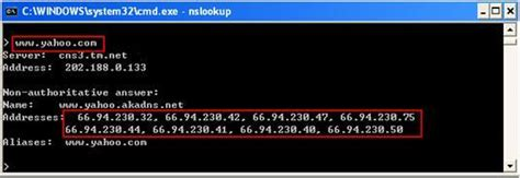 Lookup Ip Address Nslookup How To Use Nslookup To Check Domain Name Information In Microsoft Windows