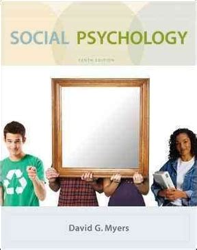 Psychology 10th Edition social psychology 10th edition rent 9780073370668