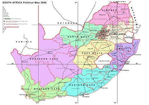 south map south africa maps printable maps of south africa for