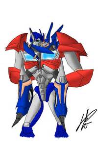 Optimus and arcee by lpiridescent