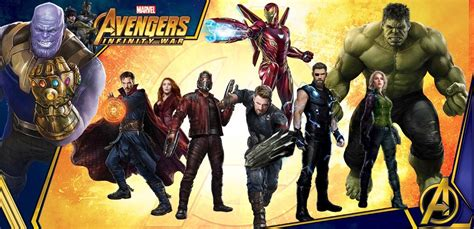 film marvel nuove uscite avengers infinity war due nuove promo art con i