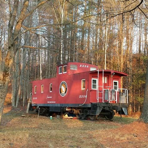 little house living living large reveals a little caboose in the big woods living large in our little