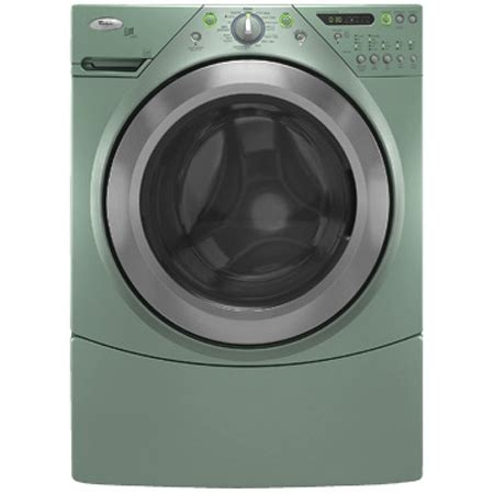 whirlpool front load washer whirlpool duet aspen green front load washer wfw9600ta abt