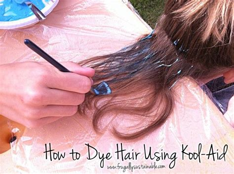 How To Section Hair For Dying by 47 Best Images About For Hair On Kool Aid