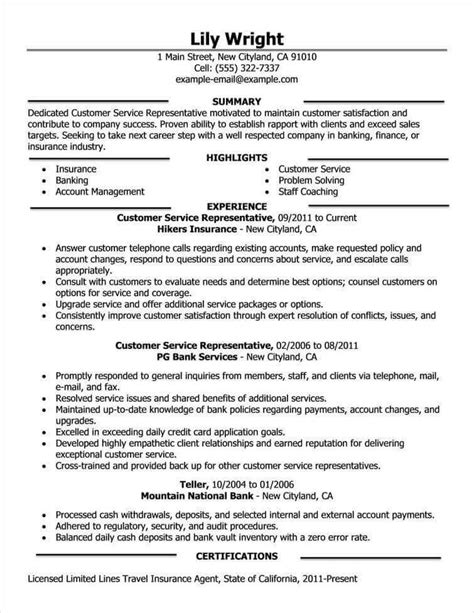 excellent simple sle of resume format free resume exles by industry title livecareer