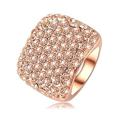 aliexpress buy square ring real 18k