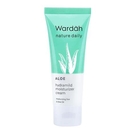 Harga Wardah Aloe Hydramild Moisturizer wardah nature daily aloe hydramild moisturizer 40ml